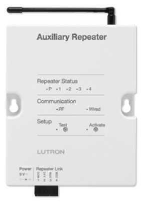 Auxiliary Repeater from Lutron