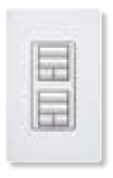 Wall-mounted keypad