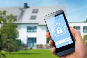 Woodlands home security through app automation