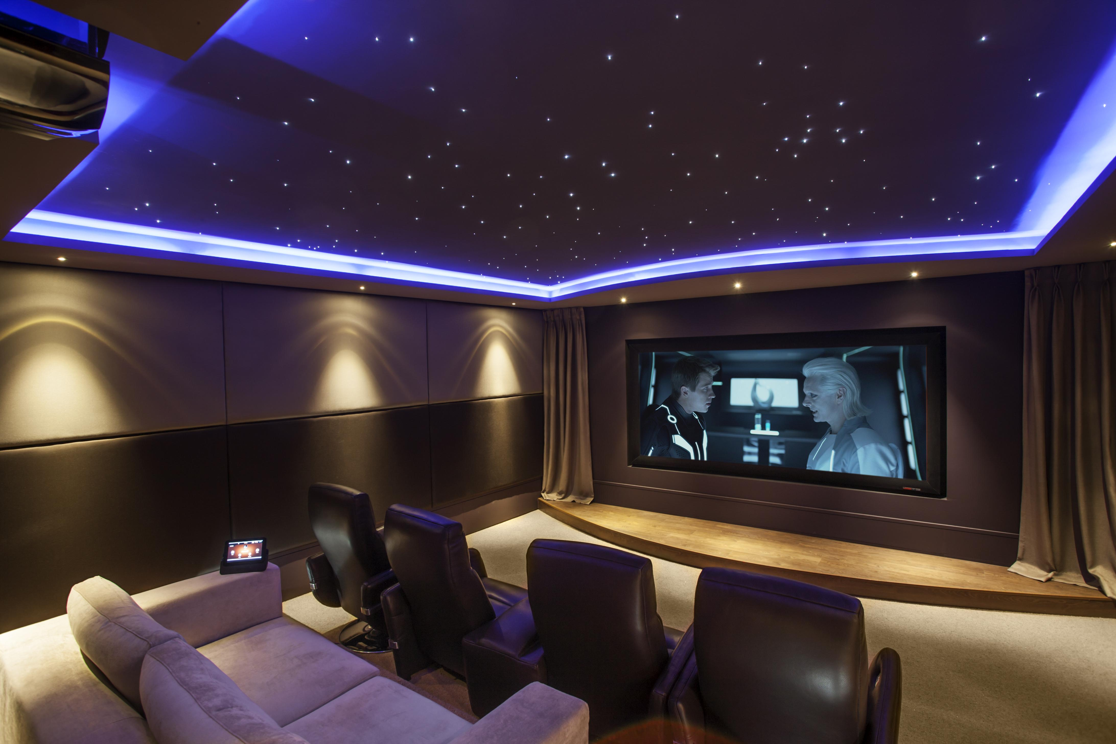 A Home Theater Installation: Montgomery, Texas