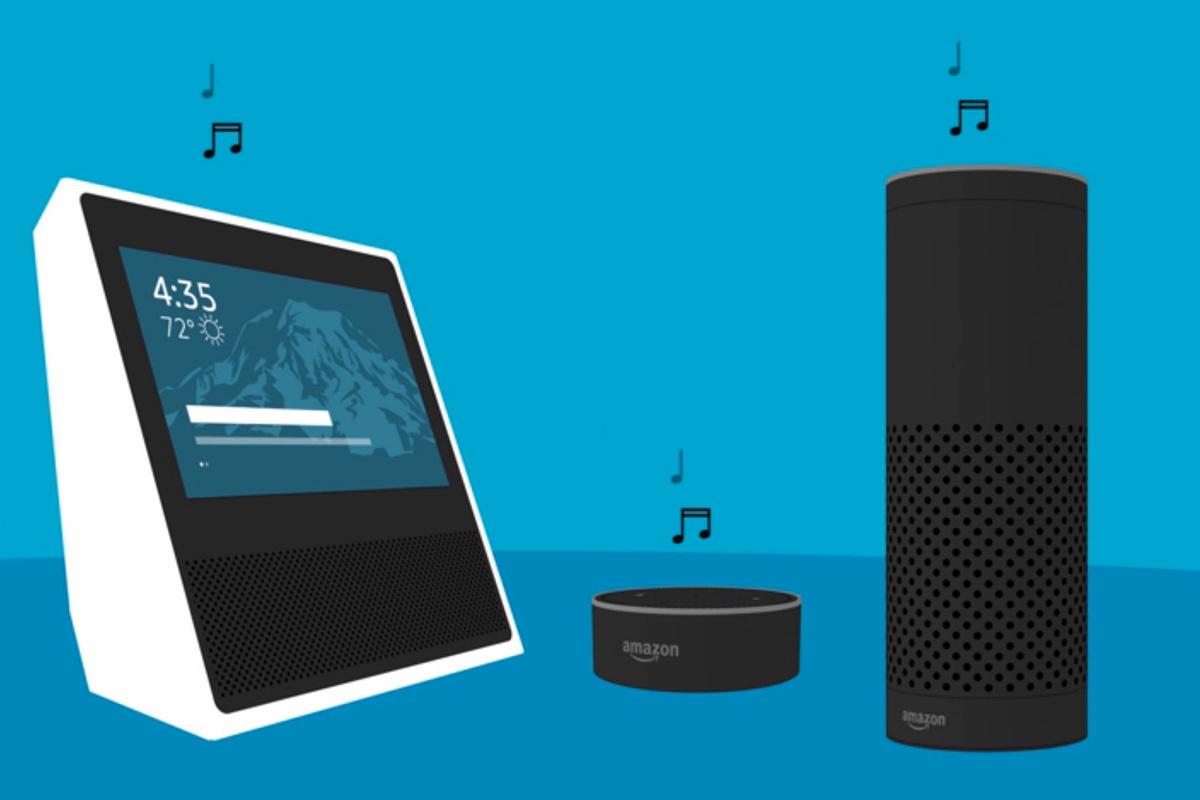 Multiple Amazon Echo Devices Lighthouse Technologies