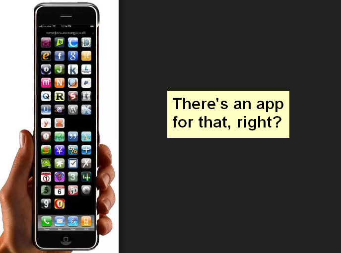 There's an app for each thing, but is that a good thing?