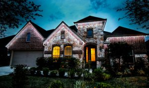 exterior LED lighting in Conroe