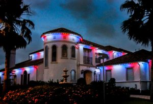 exterior LED lighting in Houston