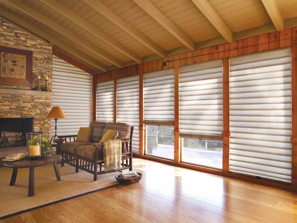 Window Shades system and slides automation in Galveston