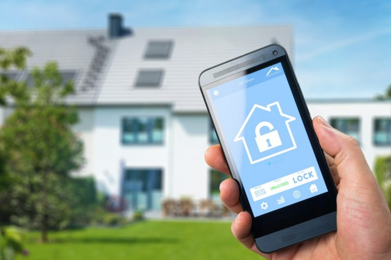 Automated Home Security using Mobile phones