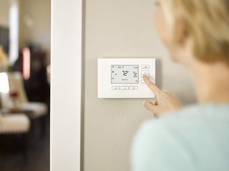 C4 Thermostat wireless automation