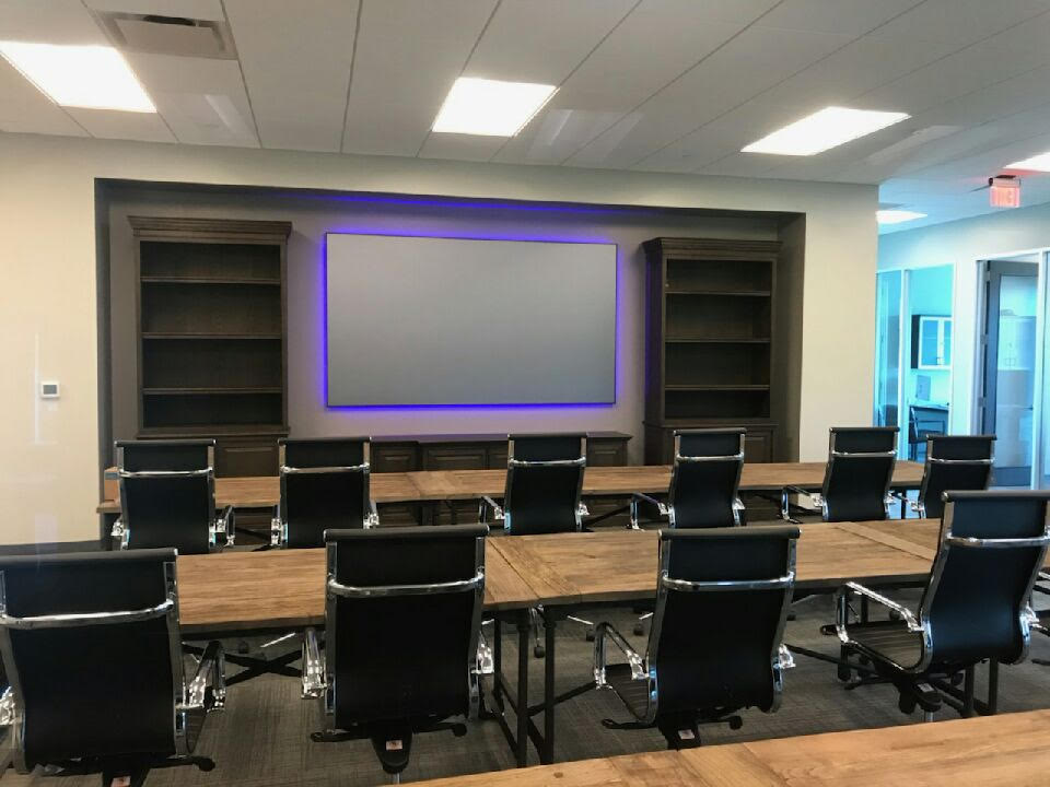 Conference Room TV Installation