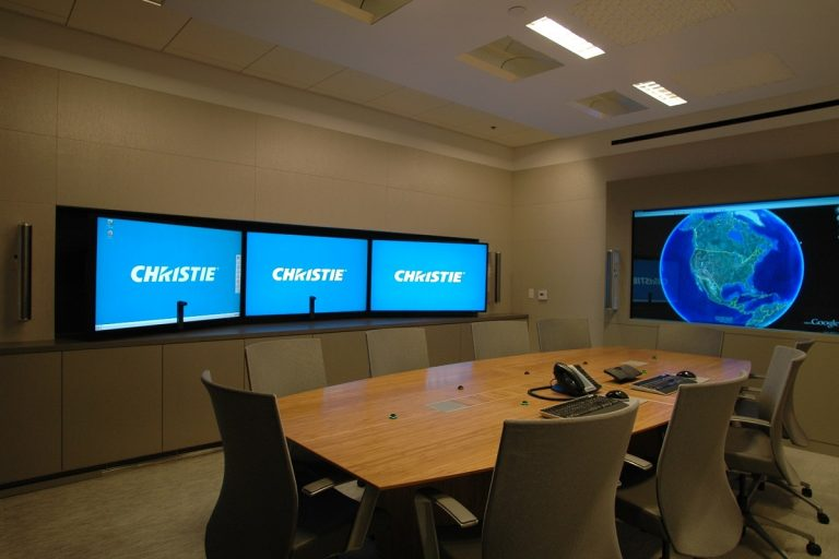 Corporate Audio Video conference room automation