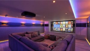 Surround Sound System and Lighting system automation