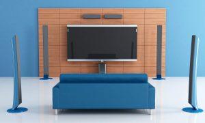 Surround Sound System speakers installatinon